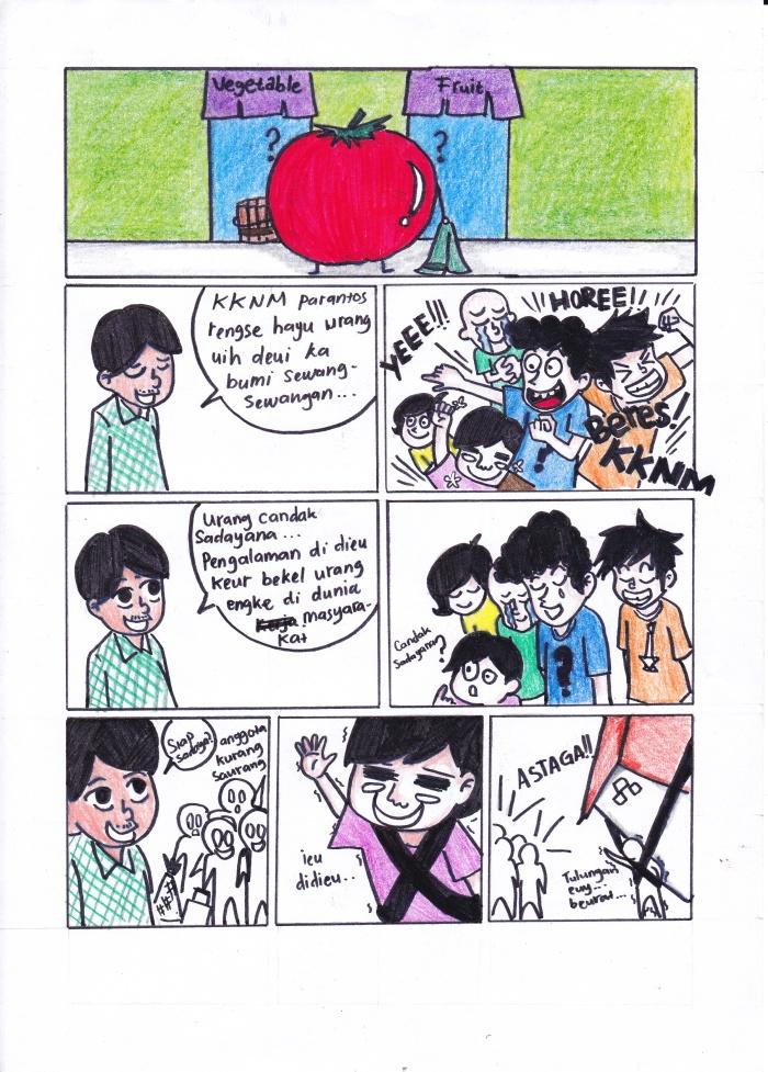 Komik Sunda Karya Annisa Nur Rachmawati (Entragan 2011)